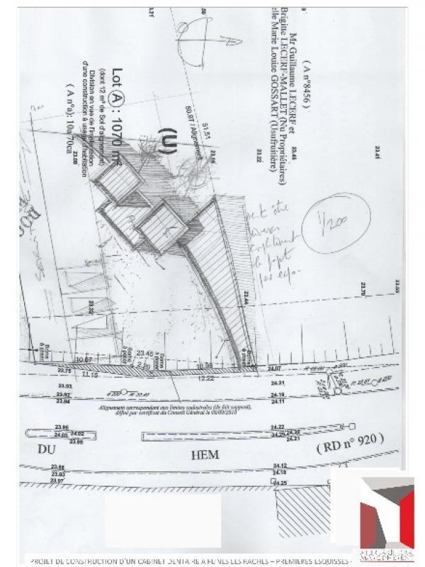 CONSTRUCTION D'UN CABINET MEDICAL (DENTISTE) A FLINES LES RACHES