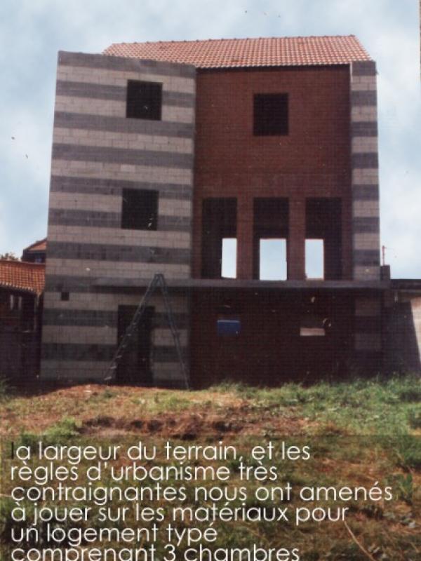 CONSTRUCTION D'UNE MAISON INDIVIDUELLE  (LOCATIVE) DANS LA COMMUNE DE CYSOING
